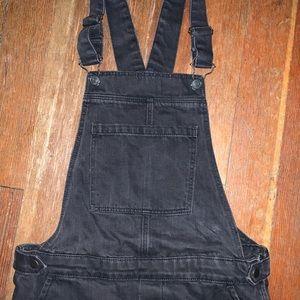 Topshop size 26 skinny leg overalls
